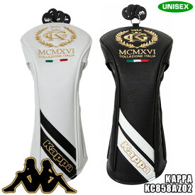 カッパゴルフ ユニセックス ヘッドカバー フェアウェイ用 高級合成皮革モデル Collezione ITALIA KC858AZ02