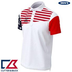 カッター&バック メンズ フラッグデザイン半袖シャツ 2020年春夏モデル CGMPJA20