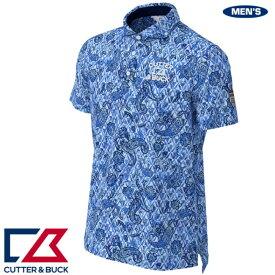 カッター&バック メンズ クーリストD-TECプリントWDカラーシャツ 2020年春夏モデル CGMPJA28