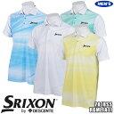 スリクソン バイ デサント メンズ 半袖ポロシャツ グラデーショングラフィック 遮熱素材 RGMLJA11