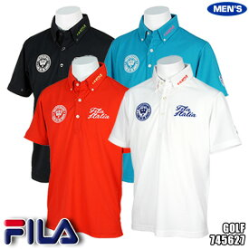 e8b13632f76ffe フィラ メンズ ポロシャツ ボタンダウン 半袖 745627