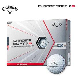 キャロウェイゴルフ クロムソフトX LS トリプルトラック ゴルフ ボール 1ダース [12球入り] [日本正規品] CHROME SOFT X LS