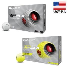 【USモデル】 2021 テーラーメイド New TP5x ゴルフボール 1ダース [12球入り] TaylorMade
