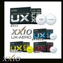 【2016年モデル】XXIO ゼクシオ UX-AERO ユーエックスエアロ ウレタンゴルフボール 1ダース(12個入り)  (GF)