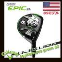 【USモデル】キャロウェイ EPIC Sub Zero フェアウェイウッド フジクラプログリーン62シャフト FUJIKURA PRO Green62