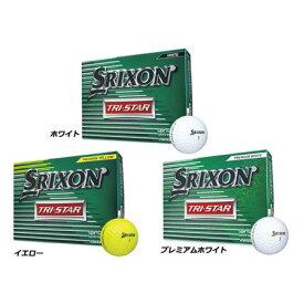 【2017年発売】スリクソン トライスター SRIXON TRI-STAR ゴルフボール 1ダース [12球入り]