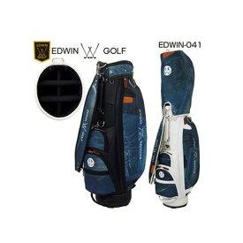 エドウィンゴルフ デニムキャディバッグ メンズキャディバッグ 2019年モデル [EDWIN-041][9型][EDWIN]