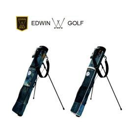 エドウィンゴルフ デニムセルフスタンドバッグ 2019年モデル [EDWIN-341RB][5〜6本入り]