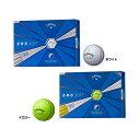 【US輸入品】 キャロウェイゴルフ ERCソフト トリプルトラック ゴルフボール メンズゴルフボール 1ダース [12球入り]