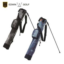 エドウィンゴルフ デニム地 ラウンドバッグ EDWIN-344RB EDWIN GOLF セルフスタンドバッグ