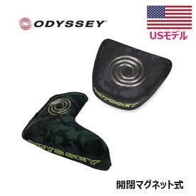 【日本未発売】 ODYSSEY オデッセイ パターカバー ブレード/マレット 迷彩 CAMO III カモ3