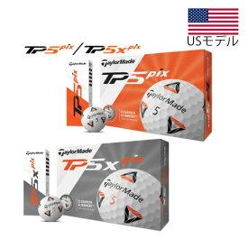 【US輸入品】 テーラーメイド 2020モデル TP5 Pix/ TP5x Pix ゴルフボール 1ダース [12球入り]