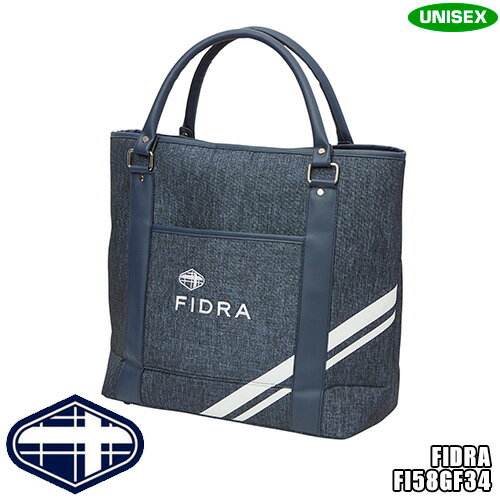 フィドラ ユニセックス クラシック トートバッグ デニム調素材 FI58GF34