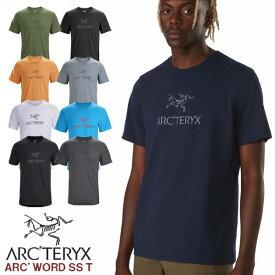 アークテリクス ARC'TERYX ARC'WORD SS T-SHIRT アークワード ショースリーブ Tシャツ メンズ 24013