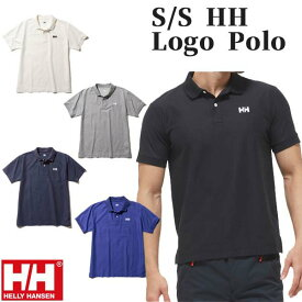 ヘリーハンセン HELLY HANSEN ショートスリーブ ロゴ ポロシャツ メンズ HH31901
