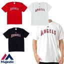 マジェスティック 大谷翔平 ロサンゼルス・エンゼルス ネーム&ナンバーTシャツ MM08-ANG-0098 Majestic