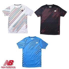 【エントリーでポイント最大20倍!】【2020/3/28(土)10:00〜31(火)09:59】ニューバランス NewBalance HANZO RACE ショートスリーブ Tシャツ メンズ AMT01200 WT VSB BK