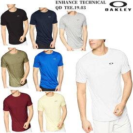 オークリー OAKLEY ENHANCE TECHNICAL QD TEE.19.03 メンズ Tシャツ 457848