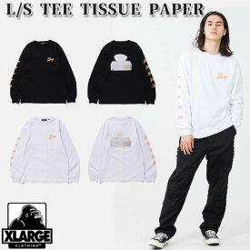 エクストララージ XLARGE L/S TEE TISSUE PAPER 長袖Tシャツ