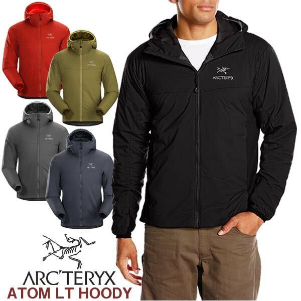 【送料無料】 男性用 軽量 中綿ジャケット アークテリクス ARC'TERYX ATOM LT HOODY アトム LT フーディー メンズ ウィンドジャケット 14644