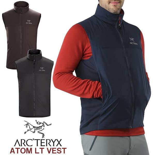 男性用 軽量 中綿ベスト アークテリクス ARC'TERYX ATOM LT VEST アトム LT ベスト メンズ ウィンドベスト 14646