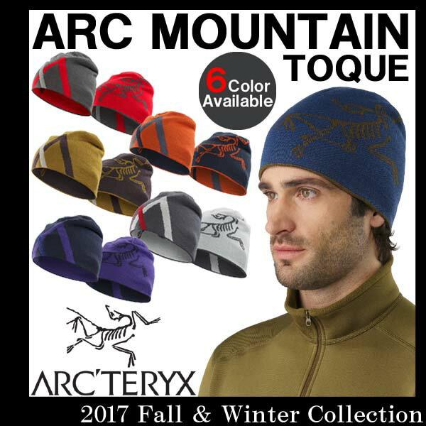 【送料無料】 男性用 ビーニー ニット帽 アークテリクス ARC'TERYX MOUNTAIN TOQUE マウンテン トーク メンズ リバーシブル ニット帽 16442