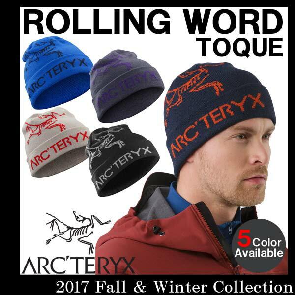 【送料無料】 男性用 ビーニー ニット帽 アークテリクス ARC'TERYX ROLLING WORD TOQUE ローリングワード トーク メンズ ニット帽 15227