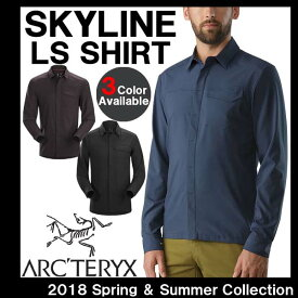 男性用 長袖シャツ アークテリクス ARC'TERYX SKYLINE LS SHIRT スカイライン メンズ ロングスリーブ シャツ 19065