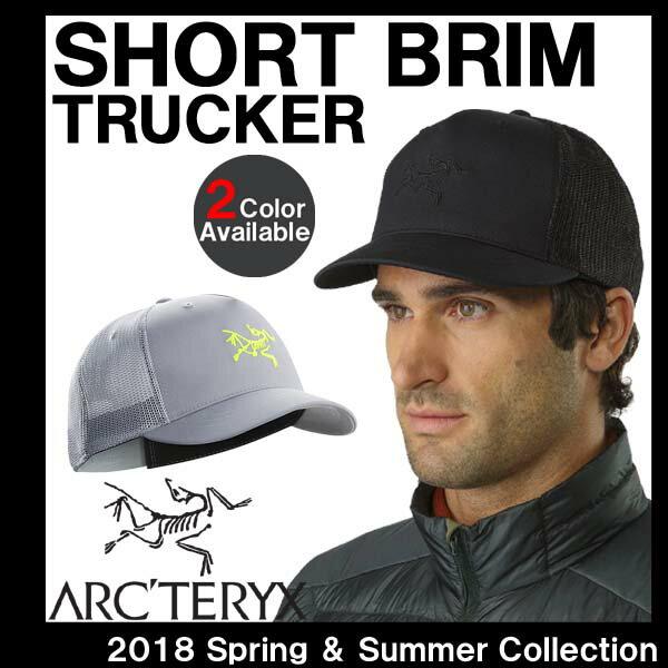 つばの短い キャップ アークテリクス ARC'TERYX SHORT BRIM TRUCKER HAT ショートブリム トラッカーハット キャップ 21407