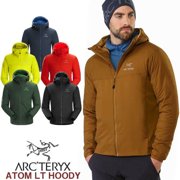 男性用 軽量 インサレーションジャケット アークテリクス ARC'TERYX ATOM LT HOODY アトム LT フーディー メンズ ウィンドジャケット 24477