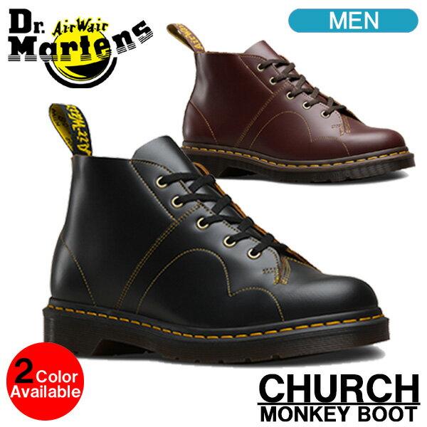 ドクターマーチン モンキーブーツ Dr.Martens CHURCH チャーチ メンズ ブーツ