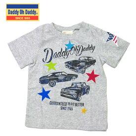 Tシャツ ダディオダディ V30823 車グラフィックプリントTシャツ 男の子 100cm 110cm 120cm 130cm Daddy Oh Daddy