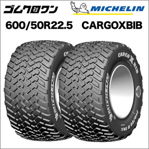 ミシュラン トラクタータイヤ 600/50 R22.5 TL CARGOXBIB(カーゴエックスビブ) 2本セット ※要在庫確認 ゴムクロワン