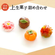 季節の上生菓子詰合せ(10月)4個セット