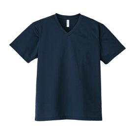 【glimmer】4.4オンス ドライVネックTシャツ SS〜LL