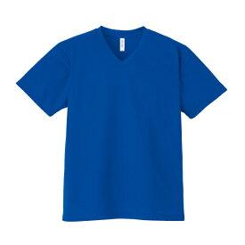 【glimmer】4.4オンス ドライVネックTシャツ 3L〜5L