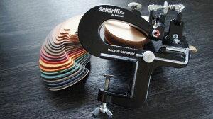 手動革漉き機シャーフィックス【Scharffix】【レザークラフト工具】