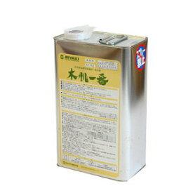 【最安値に挑戦】ミヤキ 木肌一番 4L木材用浸透性保護剤・防汚剤