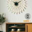 [送料無料]おしゃれな壁掛け時計 -Fioritura [おしゃれ 掛け時計 オシャレ 美しい 個性的なデザイン 繊細 カッコイイ …