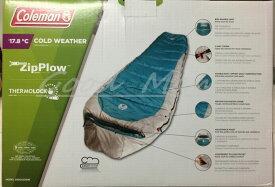 【最高級】【耐寒−17.8度】 コールマン寝袋 マミースタイル  スリーピングバッグ −17.8℃ 【Coleman SLEEPING BAG Mummy Style】【COLD WEATHER】【コストコ通販】