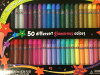 64 Elmer's 3D paint pen colored costumes and stage property! !