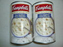 Cambell's ClamChowder 1.41kg×2缶セット 【特大サイズ】キャンベル クラムチャウダースープ 2缶セット【コストコ…