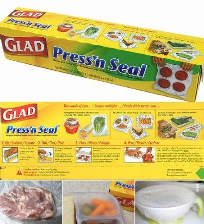 【お試し1本】【グラッド】GLAD PRESS'N SEAL プレス シール(プレスンシール)30cmX43.4m×1個【コストコ通販】