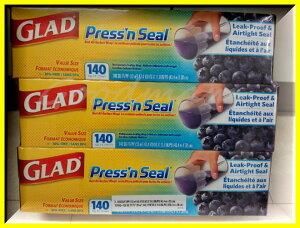 ★2点以上購入で送料無料★【グラッド】GLAD PRESS'N SEAL プレス シール(プレスンシール)30cmX43.4m×3個【コストコ通販】