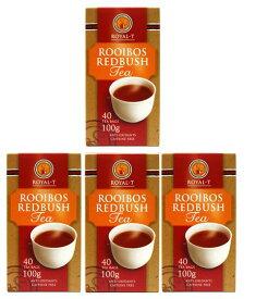 【100%オーガニック】【ノンカフェイン・健康茶】ROYAL-T ルイボスティー ロイヤルT【40P(100g)×4箱(400g)】【ルイボス茶】 【紅茶】【コストコ通販】