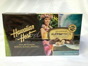 【ハワイの定番・お土産でお馴染み】ハワイアンホースト「マカデミアナッツチョコレート」アロハマック/ミルクチョコレート397g28粒/14OZ 28PIECES【HawaiianHost  ALOHAMACS】 【バレンタイン・