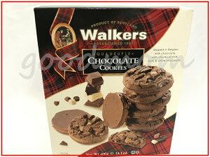 ウォーカーズ チョコレート・クッキー400g(14.1oz) スコットランド イギリス KIRKLANDカークランド ビスケット プレミアムショートブレッド クッキー【Walkers】【Chocolate Chunk Cookies】