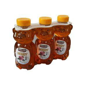 【カークランドシグネチャー】 クマさんの容器に入ったクローバー ハニーはちみつ ハチミツ くまさんの容器 680g x 3本  COSTCO【コストコ通販】