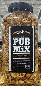 【送料無料】【JCS】Pub Mix パブミックス(スパイシーピーナッツ ) 900g パブのおつまみアソート おつまみ セット お得 宅飲み ミックス コストコ コストコ通販