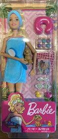 【送料無料!】キラキラ バービー スパセット 【クリスマス】【コストコ通販】【送料無料:沖縄・一部離島は対象外】Barbie お人形 服 リュック セット ハウス ポーチ カラコン